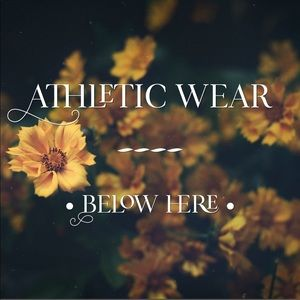 Pants - ⬇️ ALL ATHLETIC WEAR LISTED BELOW HERE ⬇️